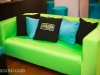 Lounge Area with custom pillows