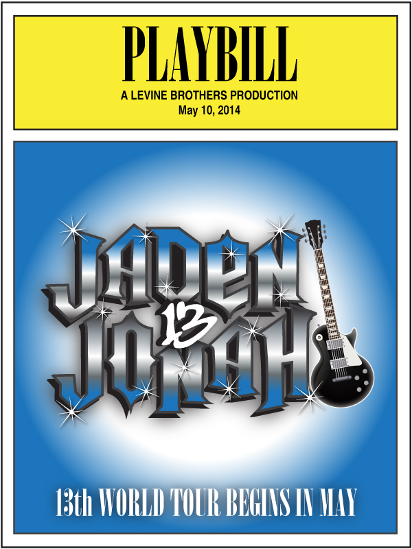 Rock of Ages Playbill Logo