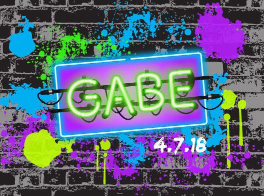 Gabriel's Bar Mitzvah logo