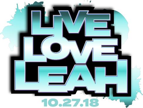 Leah's Bat Mitzvah logo
