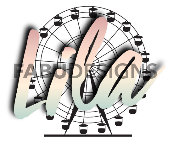 Lila's Lilapalooza Bat Mitzvah logo