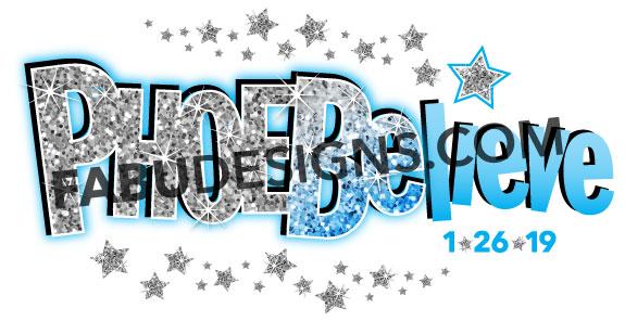 Phoebe's Bat Mitzvah Logo