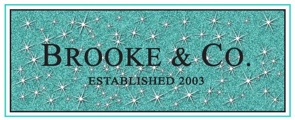 Brooke's Designer Bat Mitzvah Logo