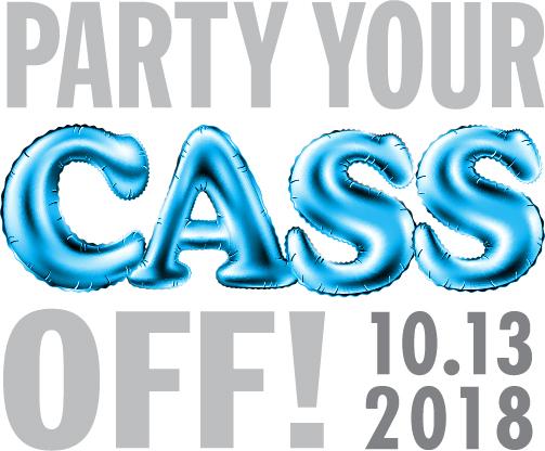 Party your CASS off Bat Mitzvah logo