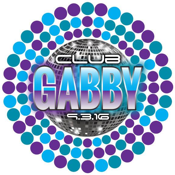 Gabby's Bat Mitzvah Logo