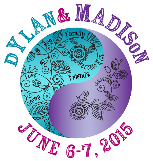 Dylan & Madisons Camp Bat Mitzvah logo