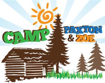 Camp Paxton & Zoe Bnai Mitzvah Logo