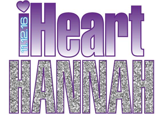 Hannah's iHeart Bat Mitzvah Logo