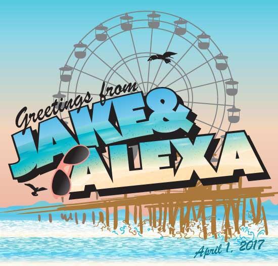 Jake & Alexa Bnai Mitzvah logo