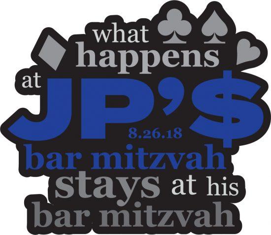 JP's Vegas Style Bar Mitzvah Logo