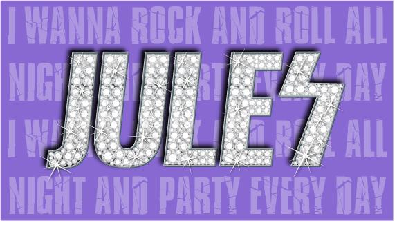 Juliette's Bat Mitzvah Logo