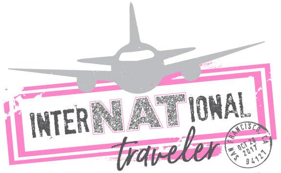 Natalie's interNATional Bat Mitzvah Logo