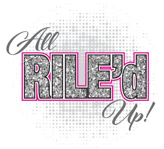 Riley's All Rile'd Up Bat Mitzvah Logo