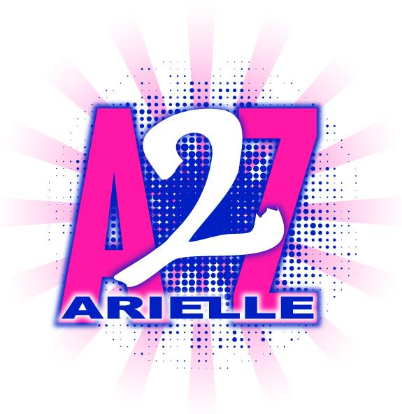 Arielle's A to Z Bat Mitzvah Logo