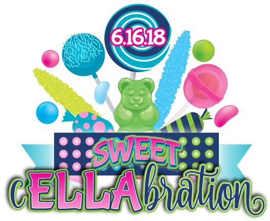 Ella's Sweet cELLAbration Bat Mitzvah Logo