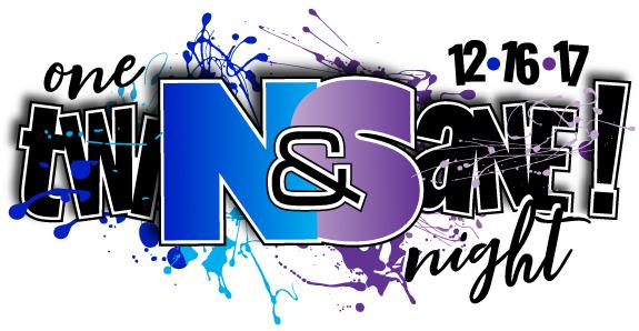 Noah & Sydney's Twinsane Bnai Mitzvah Logo