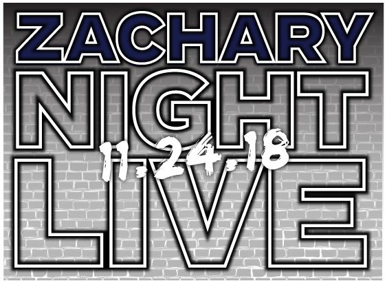 Zachary Night Live Bar Mitzvah Logo