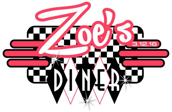 Zoe's Bat Mitzvah Diner logo
