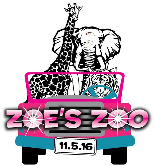 Zoe's Zoo's Bat Mitzvah Logo