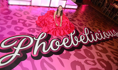 Phoebe's Bat Mitzvah Logo and Accessories