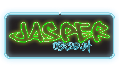 Jasper's Neon Bar Mitzvah Celebration