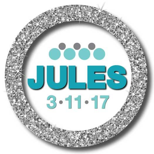 Jules Bat Mitzvah Logo