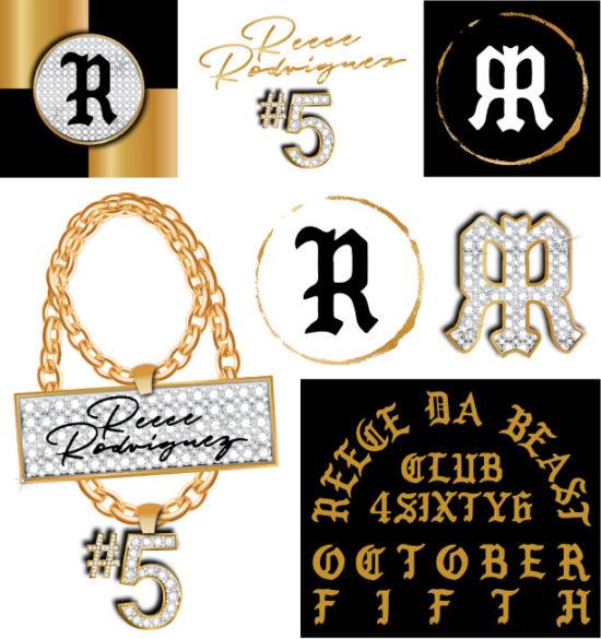 Reece's Party Branding