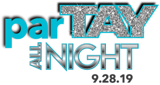 Taylor's parTAY all night Bat Mitzvah Logo