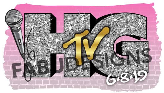 Hallie's HGTV Bat Mitzvah logo