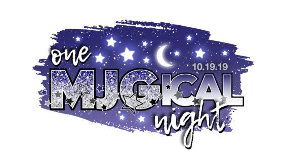 Madelyn's MJGical Night Bat Mitzvah logo