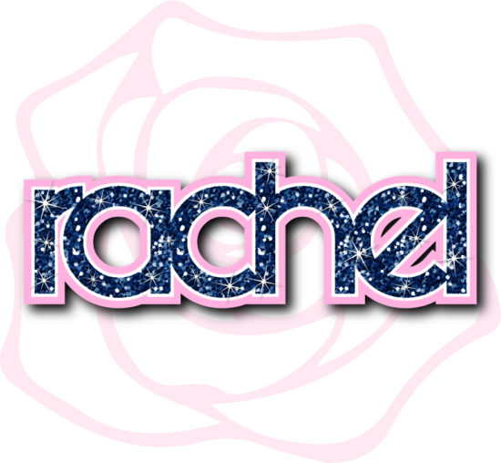 Rachel's Bat Mitzvah Logo