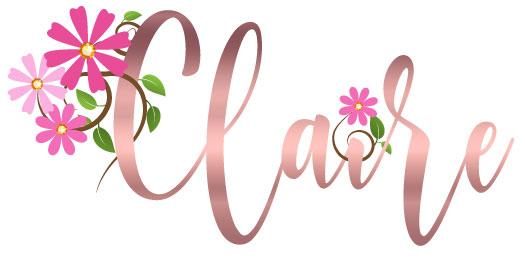 Claire's Bat Mitzvah logo