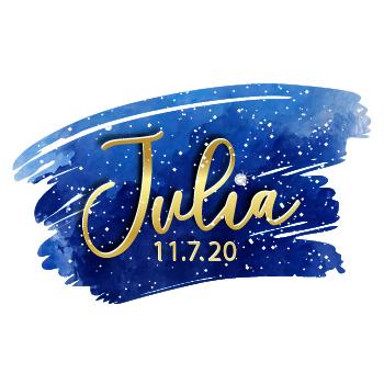 Julia's Bat Mitzvah Logo