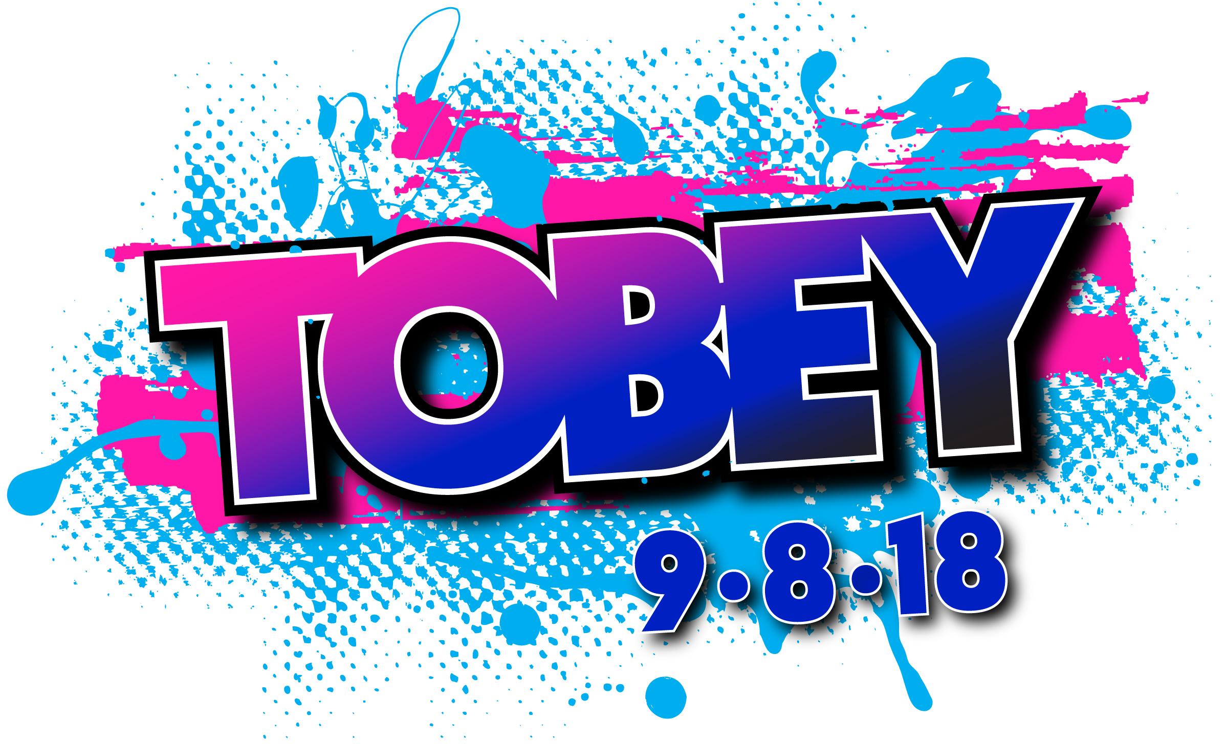 Tobey's Bar Mitzvah Logo